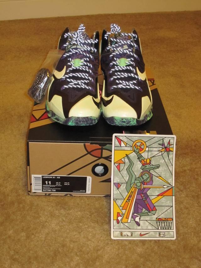 Nike LeBron 11 Gator King All Star