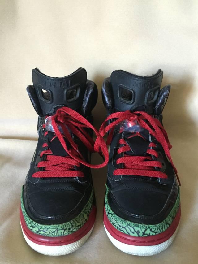Air Jordan Spizike 1st release (Black/Red/Green) | Kixify ... Jordan Spizike Black And Red