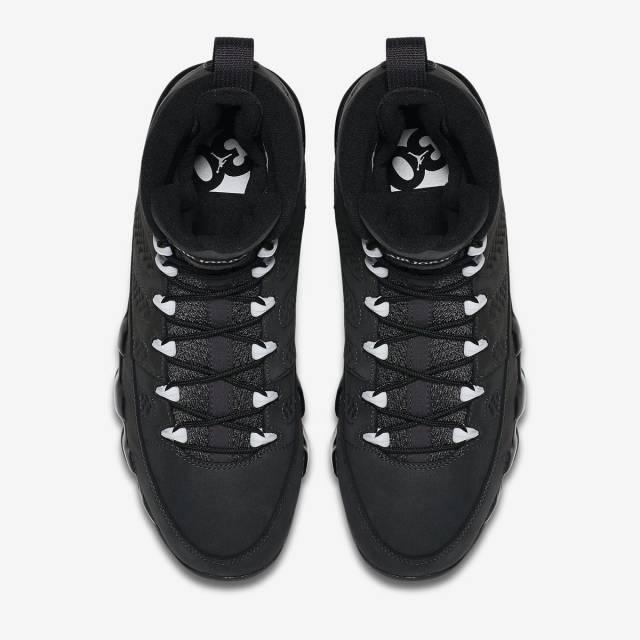 Nike Air Jordan Retro 9 IX 'Anthracite' Black ...