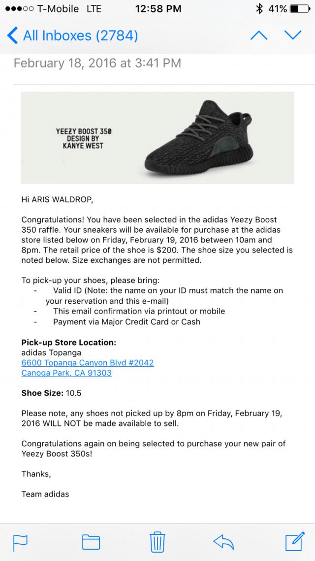 Adidas yeezy boost 350 pirate black size 10.5