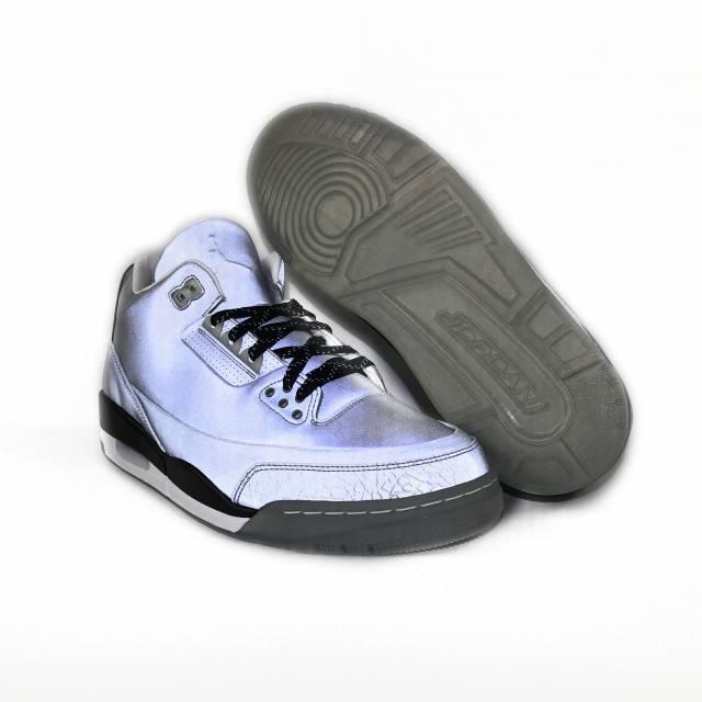 check out d06be cd9bd Air Jordan Retro 3 5lab3 Silver Size 10.5