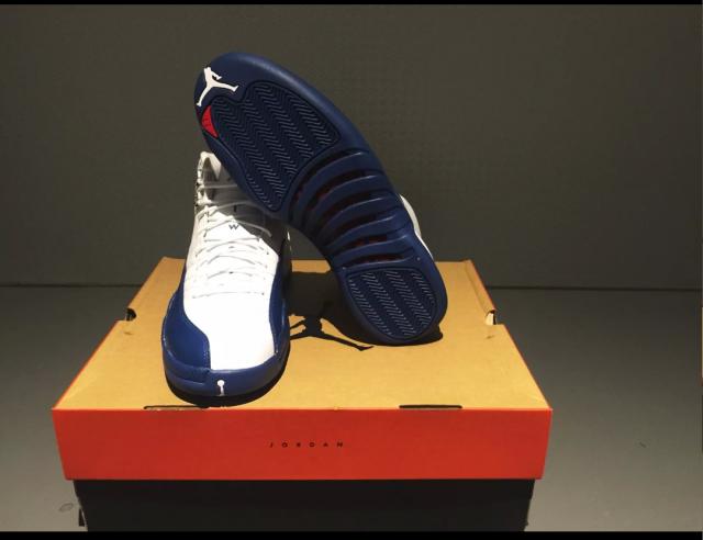 68f4ec12a618b8 Jordan retro 12 french Blue