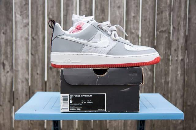 on sale 293ab 7478d 2008 Nike Air Force 1 Premium '07 316892 008 Ds 9 Air M...