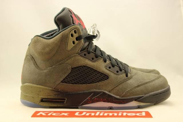 Air Jordan 5 Retro 'Fear Pack' - 626971-350 - Size 10.5 - eCdN5Y