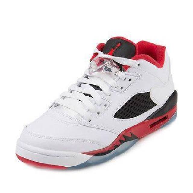 cheap for discount 48061 57ed0 Retro 5 Low Tops Size 4.5