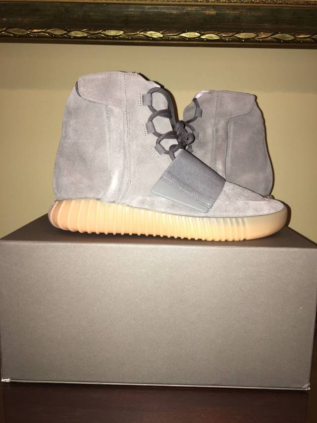 30ca523540a1ca Adidas Yeezy 750 Boost Grey Gum Bottom DS 100% Authentic