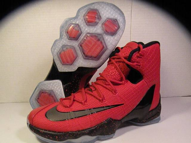 d2ede4888d01 Nike LeBron XIII 13 Elite University Red Black Bright Crimso ...