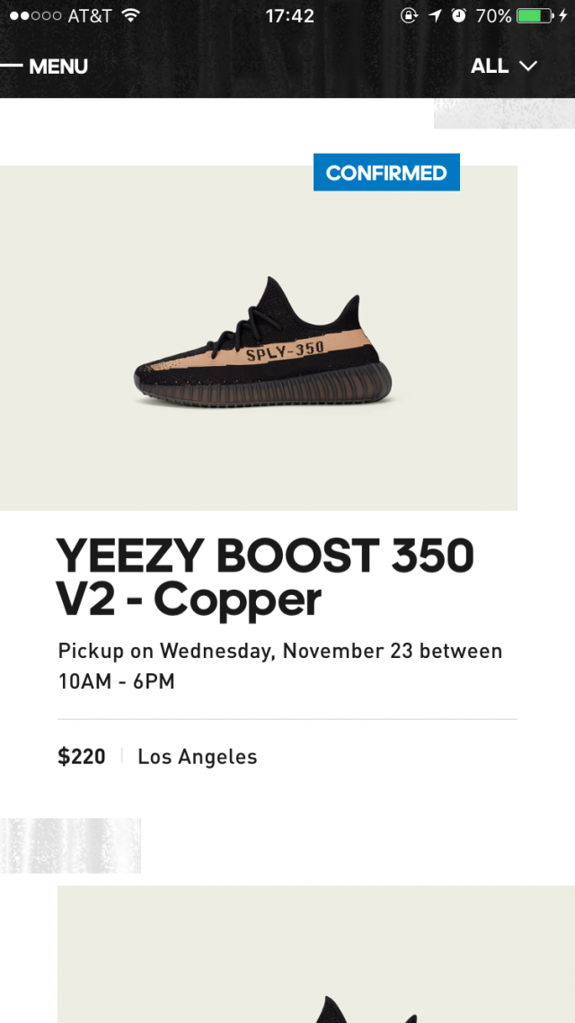 New Adidas Yeezy Boost 350 V 2 COPPER BY 1605 9 US Cheap Sale