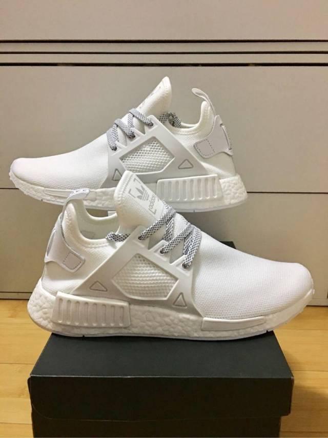 Adidas Men's NMD XR1 DUCK CAMO Shoes White BA7233 a