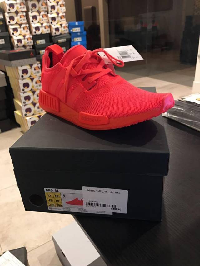 Nmd R1 Solar Red Kixify Marketplace