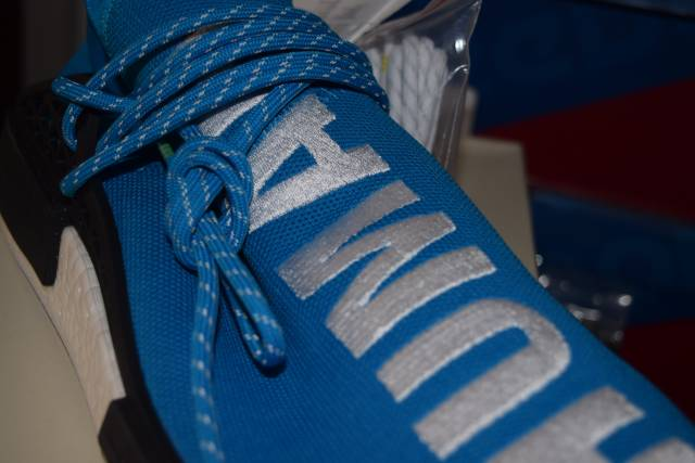 PW Hu NMD family and friends on feet in box from loooyooo