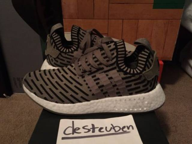 Adidas NMD R2 PK 'Trace Cargo' size 8.5us
