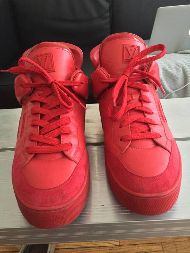louis vuitton kanye west red dons yeezy kixify marketplace