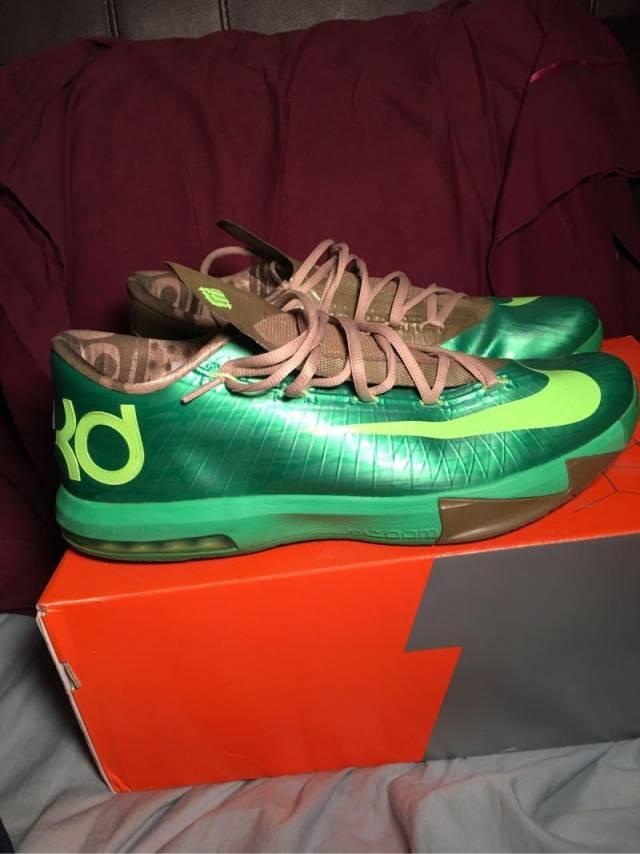 0bd576268c4 Nike KD 6 Bamboo size 13