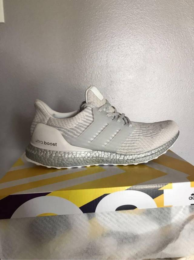 c0738569f05 Adidas Ultra Boost 3.0 Crystal White Silver Boost