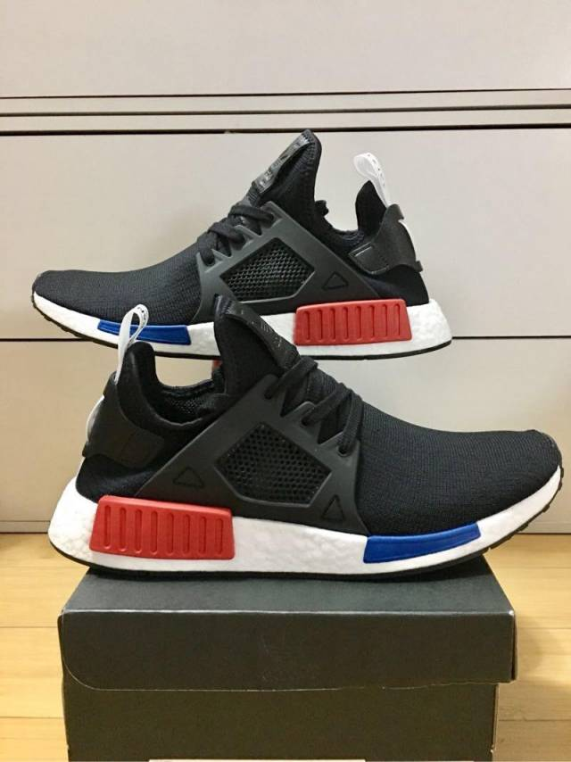adidas NMD XR1 Triple White Leather BY9922