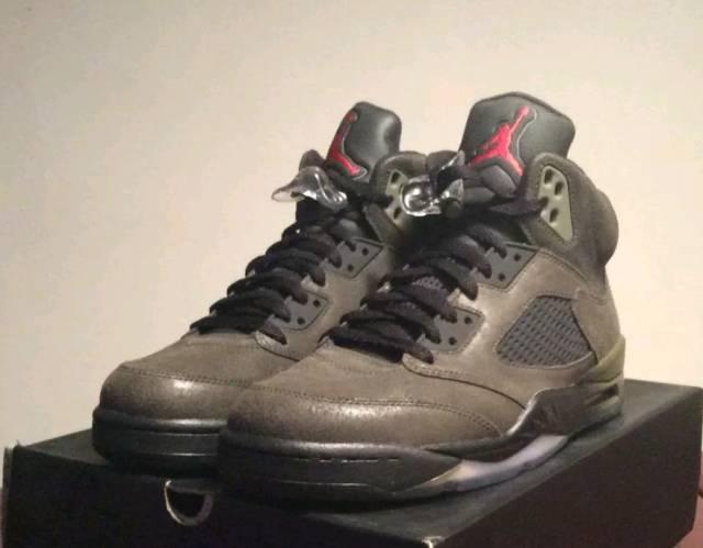 c42fa234edc63 RARE VNDS Nike Air Jordan 5 Retro FEAR Men s Sizes 8 - 14