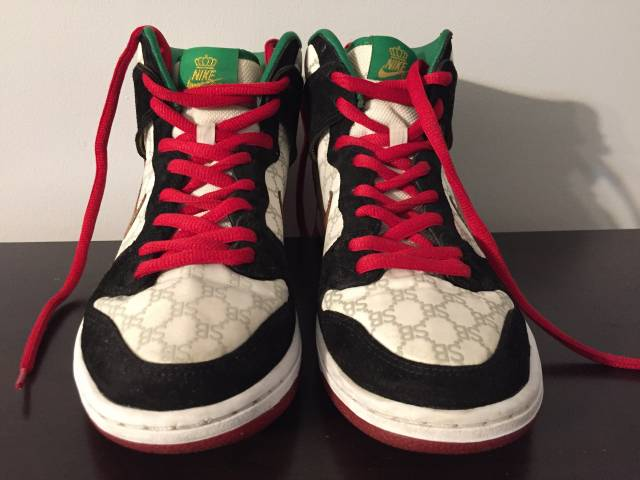 Black Sheep x Nike SB Dunk High Paid in Full