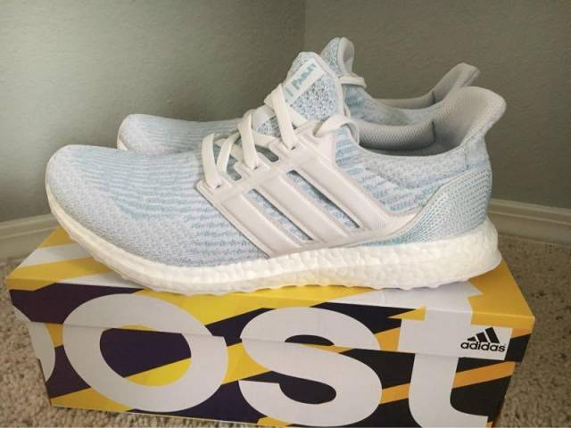 82ce6461fca1 Parley x adidas Ultra Boost 3.0 Coral Bleaching