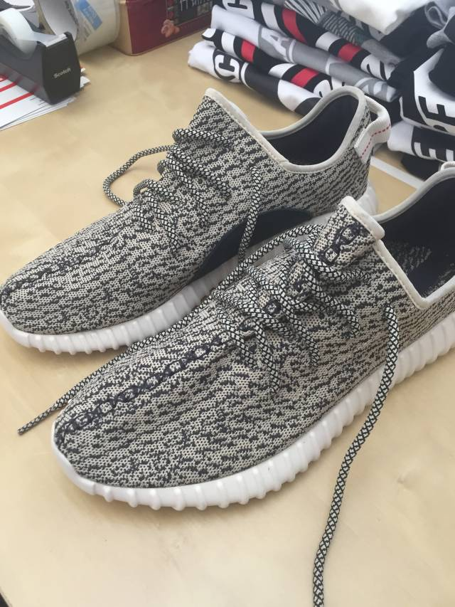 6a73db2e505 Adidas Yeezy 350 Boost Turtle Dove Size 10