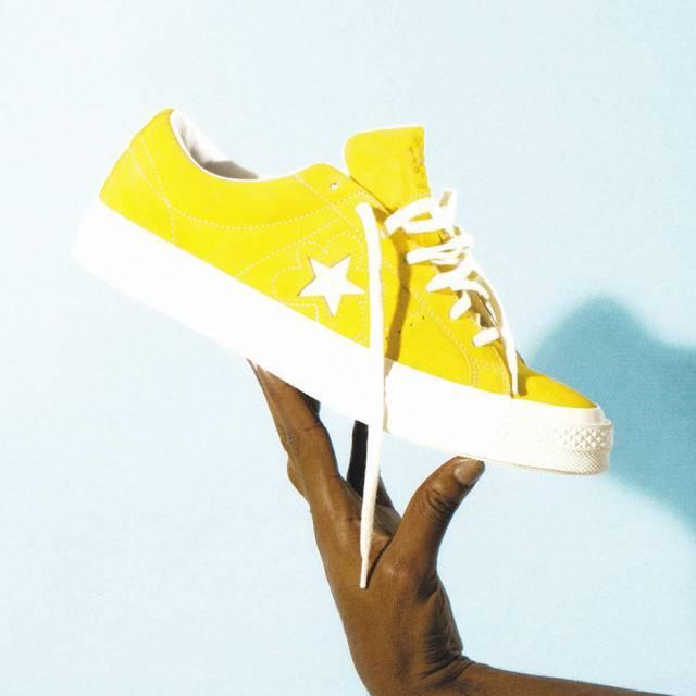 Converse One Star X Golf le Fleur Tyler the Creator Yellow