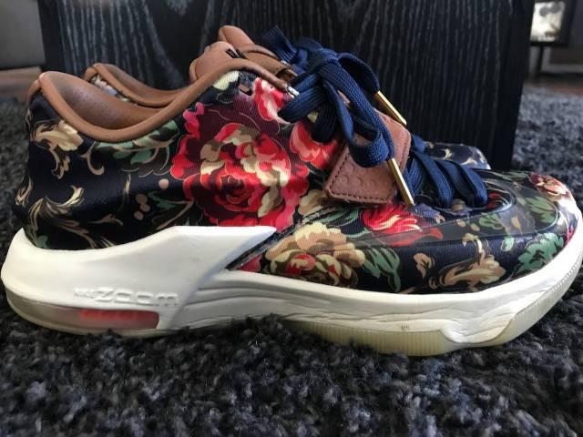 sale retailer 53445 10de8 Nike Kd 7 Ext - Floral Size 7.5