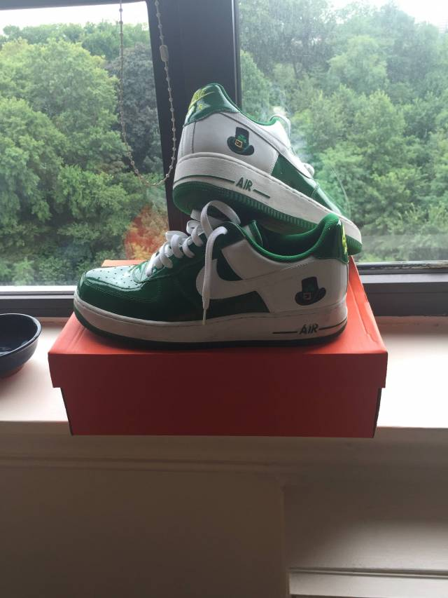super popular f2727 90bec Nike air force 1 low  st. patrick s day