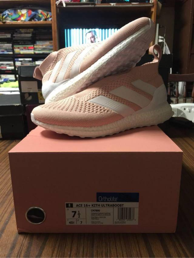 new product 5b7ea 4e7f0 Kith X Adidas Ace 16+ Ultra Boost Vapour Pink