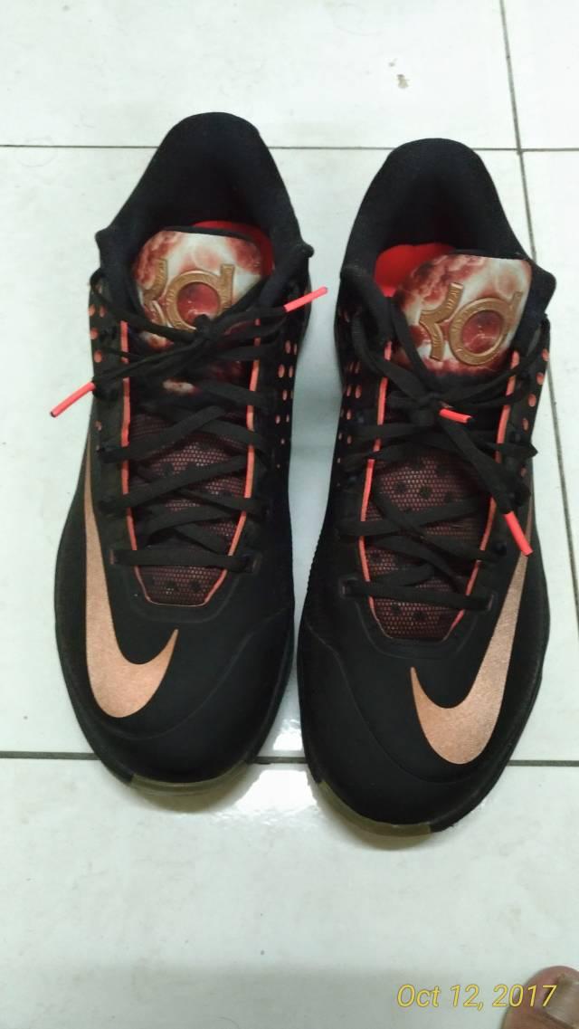 new concept fa95e baaea Nike KD VII 7 Elite Rose Gold Kevin