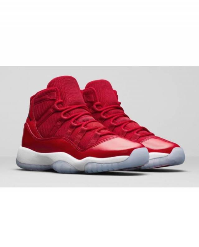 best sneakers 97178 6c4fe Air Jordan 11 Retro Win Like 96 Gym Red w Receipt (Gs) Size 3.5-7