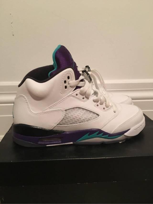 "dd640ace78db Jordan 5 2013 Retro ""Grapes"""