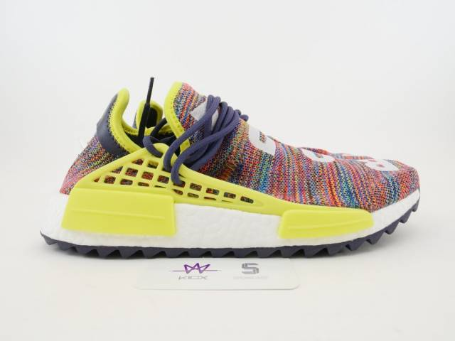 new concept a00a9 f39c8 PW HUMAN RACE NMD TR MULTI-COLOR SZ 8.5 Noble Ink AC7360 NEW