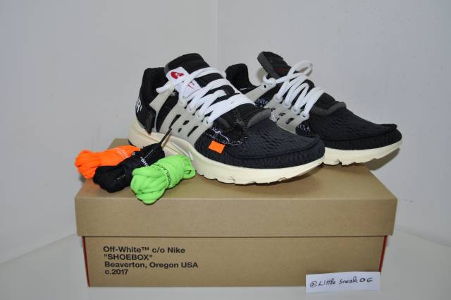 Nike Air Presto X Off White The Ten Size 6 Us 5.5 Uk 38...