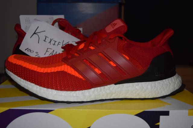d6603054faf Adidas Ultra Boost 2.0 Solar Red
