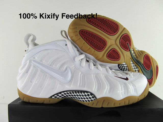 pretty nice fd1d6 6bf55 Nike Air Foamposite Pro - White Gucci