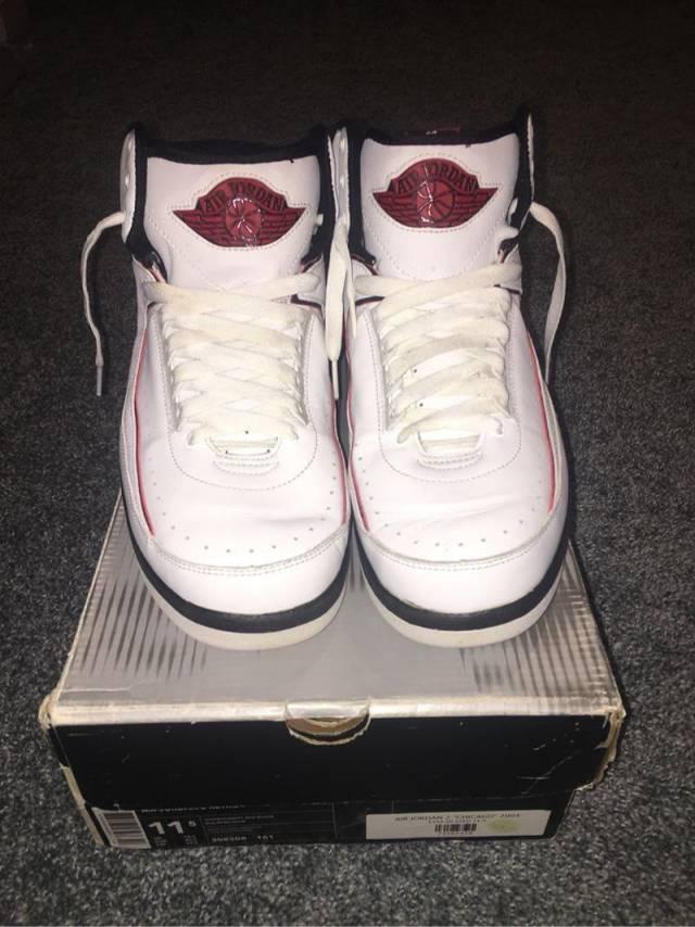 online store 34629 bcc60 Jordan 2 Retro 2004 Size 11.5