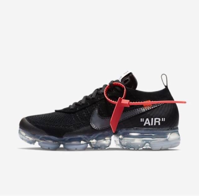 Off-White x Nike Air Vapormax Black 2018 w/Receipt (men's) Size 4-15