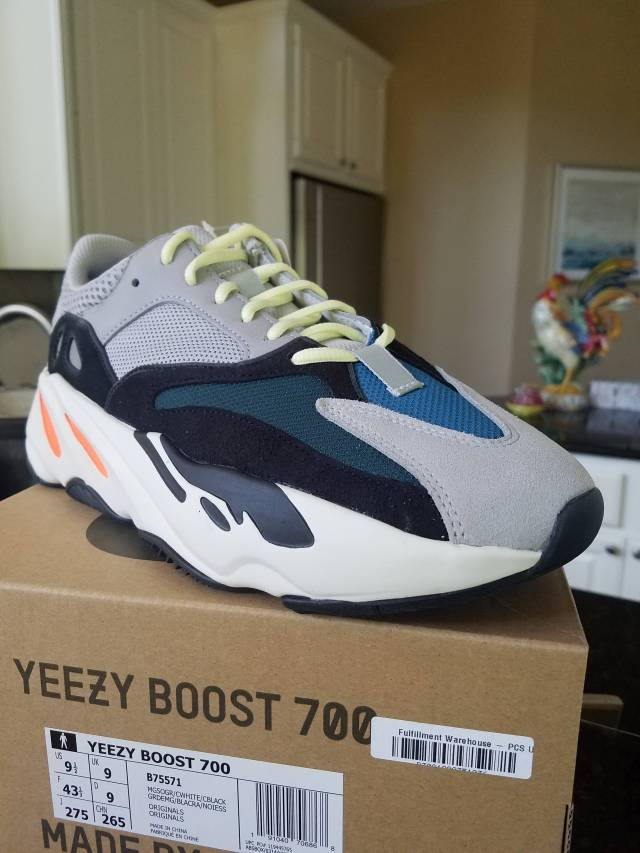 fcf90b535 adidas Yeezy Boost 700 Wave Runner Grey