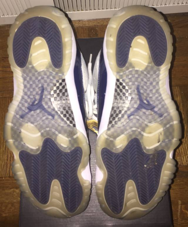 2ecb136b3b9 Nike Air Jordan Retro 11 Georgetown Men's US Shoe Sz 9 | Kixify ...
