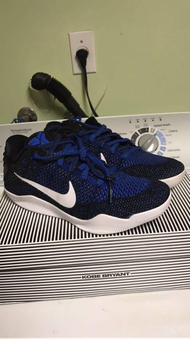 new product 62236 70eb8 Nike Kobe 11 - Mark Parker Size 7