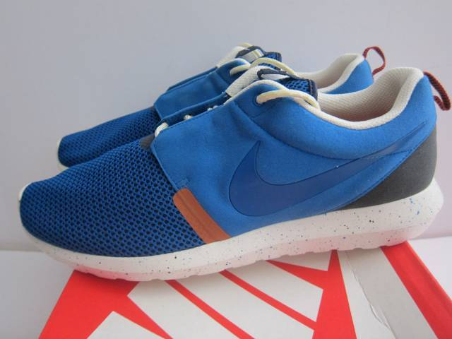 dd4d71f99c78 ... order sale nike roshe run nm br sz 13 military blue navy sail rosherun  644425 400