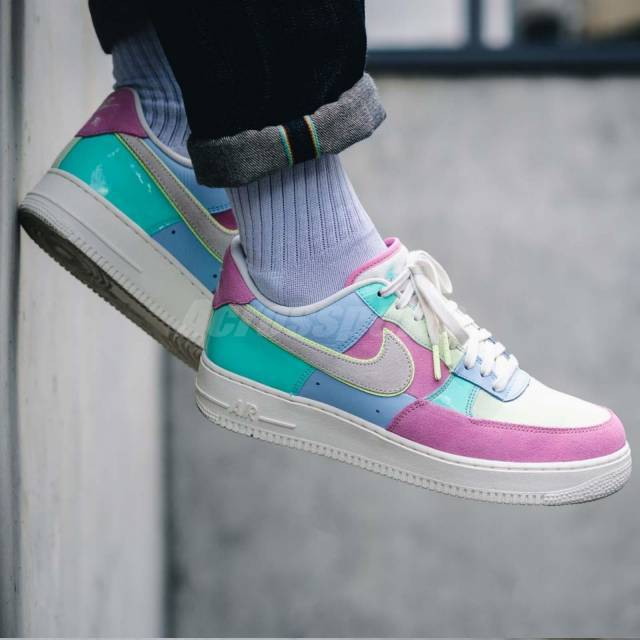 Nike Air Force 1 07 QS EASTAR 2018 Spring Patchwork Pack Mens Shoes AH8462400