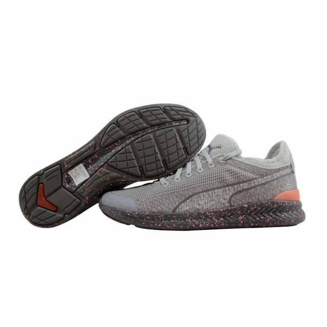 a0679031c1dbb2 Puma Ignite Sock Woven Glacier Grey Steel Grey 360897 02 Men s SZ 12 ...
