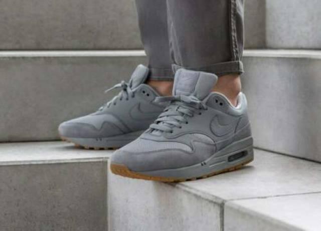 Nike Air Max 1 Sneakers Cool Grey Size 8 9 10 11 12 Men