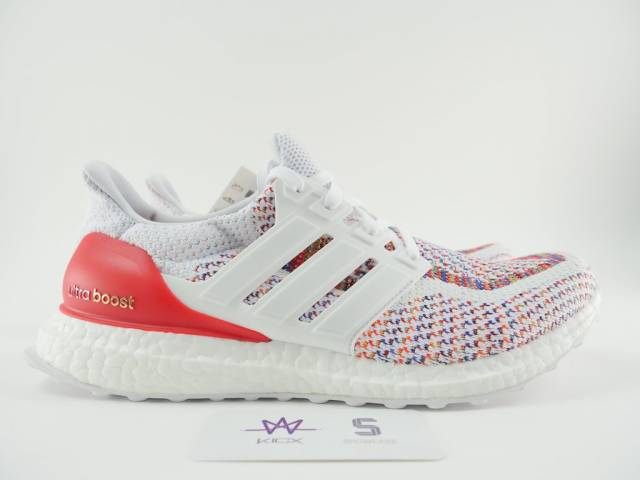 reputable site bd1bf 71fb0 ULTRA BOOST M MULTICOLOR SZ 9.5 WHITE BB3911 NEW DS