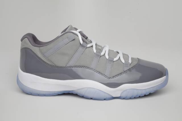huge discount e133c eb1d2 Air Jordan 11 Low Cool Grey