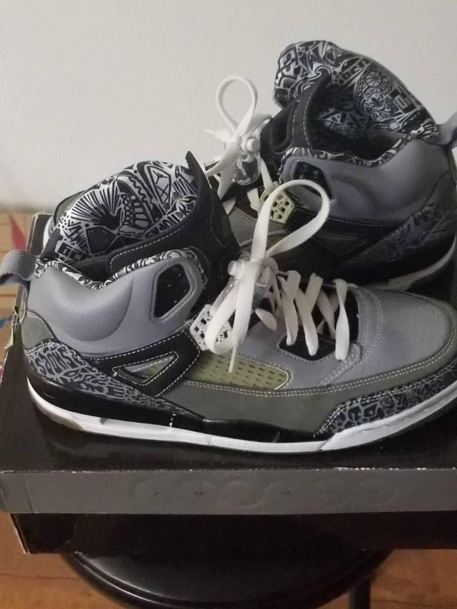 Air Jordan spizike cool gray