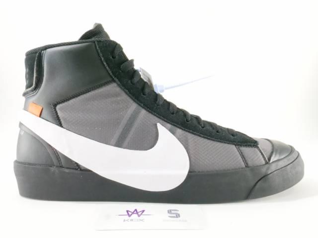 sneakers for cheap a466a 065e7 NIKE THE 10  NIKE BLAZER MID OFF WHITE SZ 9 BLACK AA3832-001