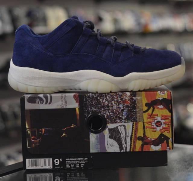 sports shoes 0cfb8 cd6cf Jordan 11 Jeter Low