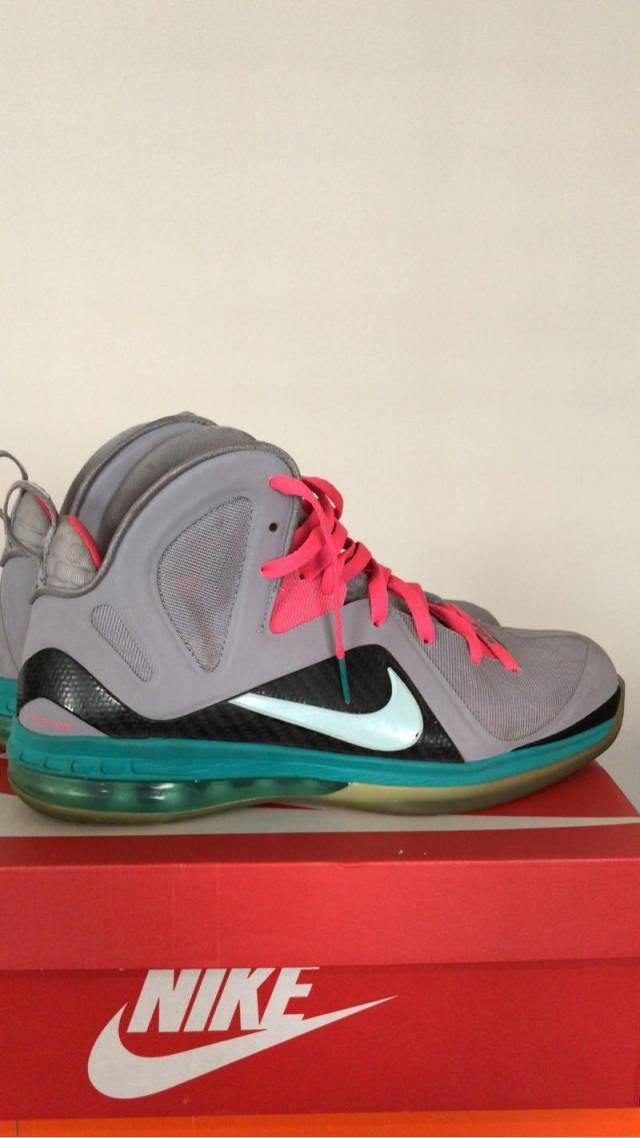 purchase cheap 66122 2490a Nike LeBron 9 Elite PS South Beach